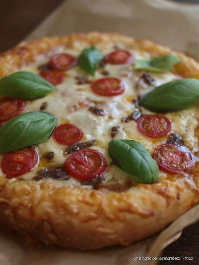 おうちピザ。