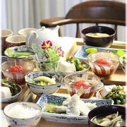 【献立】キスの天ぷら。と 献立。 と 健康的な一日。