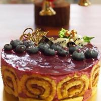カシスのケーキ