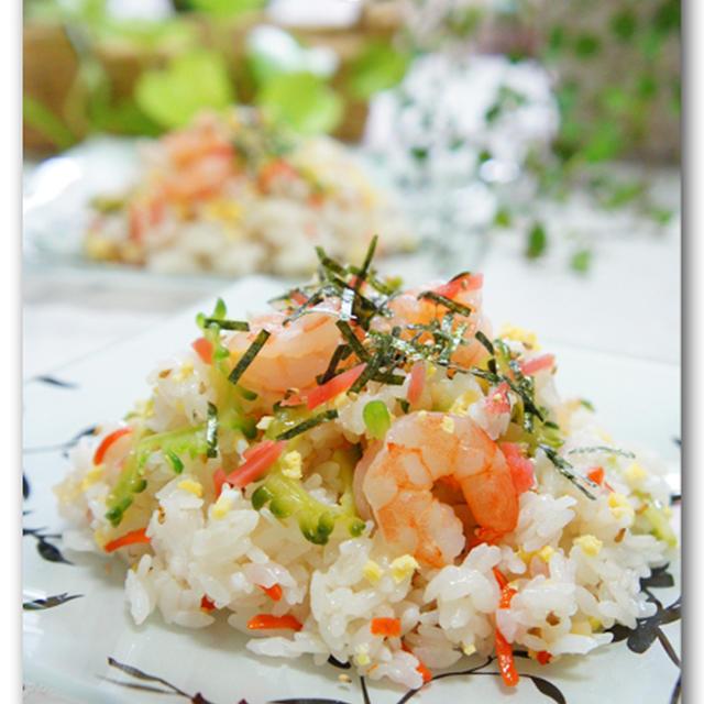 海老とゴーヤのビタミン混ぜ寿司
