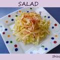 【減塩レシピ】春キャベツのサラダ と かわいい犬