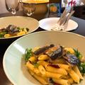 和の薬味で香りよく「秋刀魚のアーリオ・オーリオ・ペペロンチーノ」。 by イェジンさん