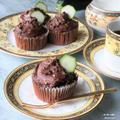 混ぜて焼くだけ。しっとりの秘密は…『ズッキーニチョコケーキ』
