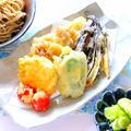 夏野菜の天ぷら蕎麦の作り方レシピ 料理動画 by 和田 良美さん