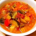 彩り野菜のめちゃ美味しい「ラタトゥイユ」レシピ。夏最後の【ミニトマト大量消費】