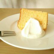 米粉と豆乳のシフォンケーキ《乳&小麦アレルギー対応・グルテンフリーシフォン》