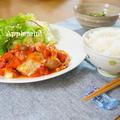 チーズのせ煮込みハンバーグ定食 by アップルミントさん