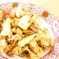 旨味たっぷり☆たけのこと豚肉の生姜焼き