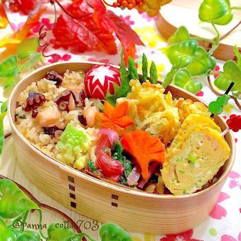 タコ飯弁当&銅製卵焼き器