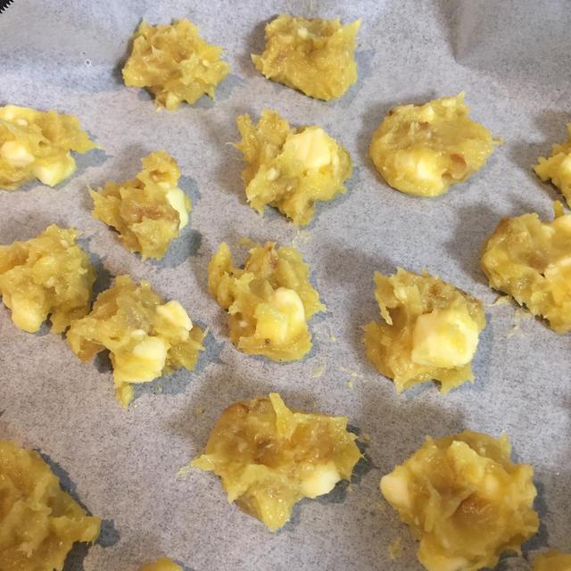 離乳食後期 焼き芋チーズおやき