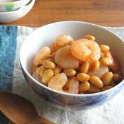 お鍋1つで簡単和総菜◎えびと大豆の旨煮☆お弁当やおつまみに♪ by kaana57さん