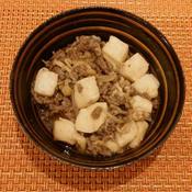 アジアン風肉豆腐炒め