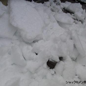 侮るなかれ、雪の脅威っ(-_★)!