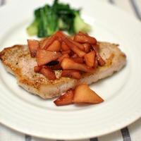 豚肉のソテー アップルソース