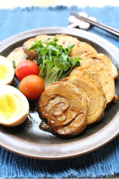 鶏チャーシューのさっぱり煮♪
