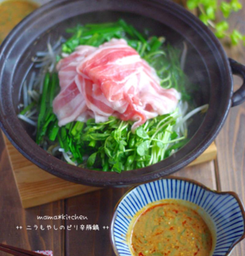 家計にうれしい!「豆苗と豚肉」で作るメイン料理