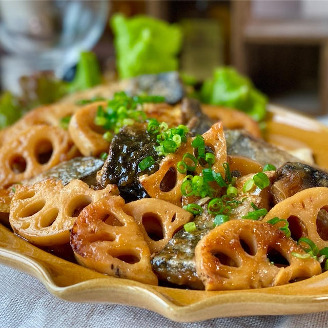【レシピ】サバとれんこんの南蛮漬け