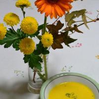 花と料理で楽しむ♪ハッピーハロウィン カボチャのポタージュ