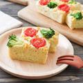 米粉ケークサレレシピ♪卵なし小麦粉なしチーズなし!カレー粉風味