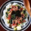 食べれば味はサラダ巻き!「ツナ梅きゅうり丼」