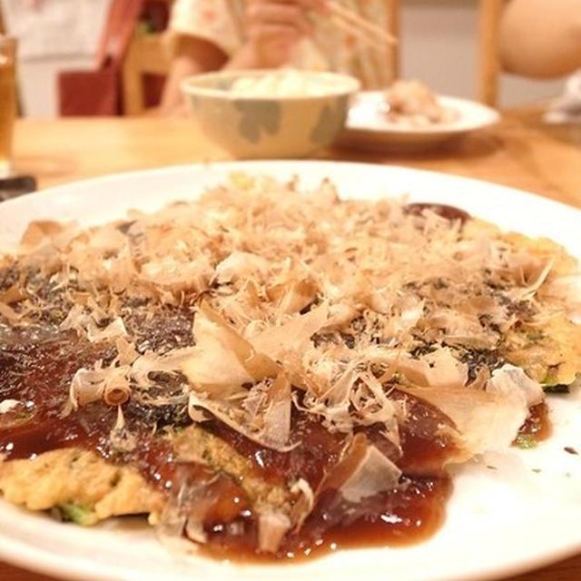 青菜が食べやすい、ほうれん草の豆乳入りお好み焼き風|人にも環境にも優しく