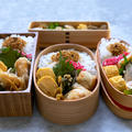 鶏の塩唐揚げ弁当と昨日のお昼ごはん:タコス!