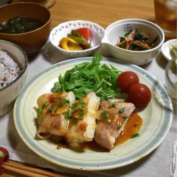 玉ねぎを美味しく食べよう!疲労回復もおすすめ!豚肉のオニオンガーリック♪