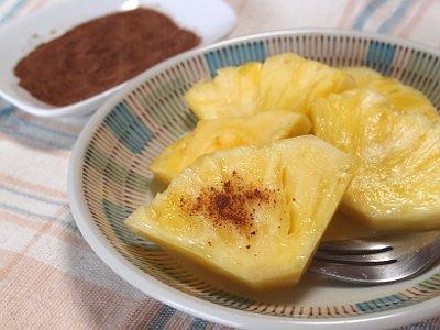 パイナップルは魔法の粉で美味しくなるかな?「酸梅粉」