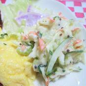 色々野菜のコールスローサラダ