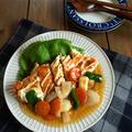 こんがりチキンステーキのマヨ甘酢あん〜鶏むね肉でも柔らかジューシー〜レシピブログ 私のキッチン〜