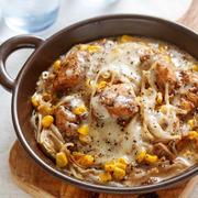 鶏むね肉のうま味をもやしがキャッチ!フライパンで10分放置『もやしとむね肉のチーズ蒸し』