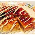 モヤシのオムレツお好み焼き風