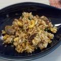 ガーリックステーキ炒飯。 by カナッペさん