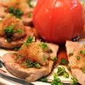 豚ヒレ肉のおろしポン酢がけ。