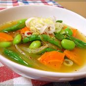 野菜のみそスープカレー