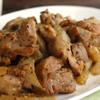 ガラムマサラ香る☆鶏もも肉と新玉ネギのハニーマスタード炒め