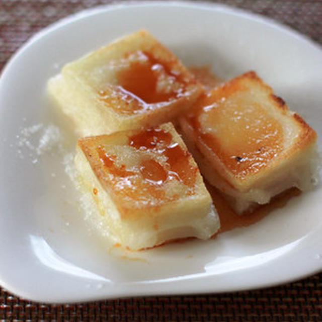 おもちのアレンジレシピ①中毒に注意!…「みたらし風焼きもち」