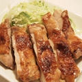 塩麹で鶏のソテー醤油風味