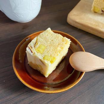【レンジで簡単】もちもち〜さつまいも蒸しパン|ホットケーキミックスなしでも◎