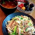 豚肉と白ねぎとメンマの塩やきそば ~ さっぱり塩ダレ♪ by mayumiたんさん
