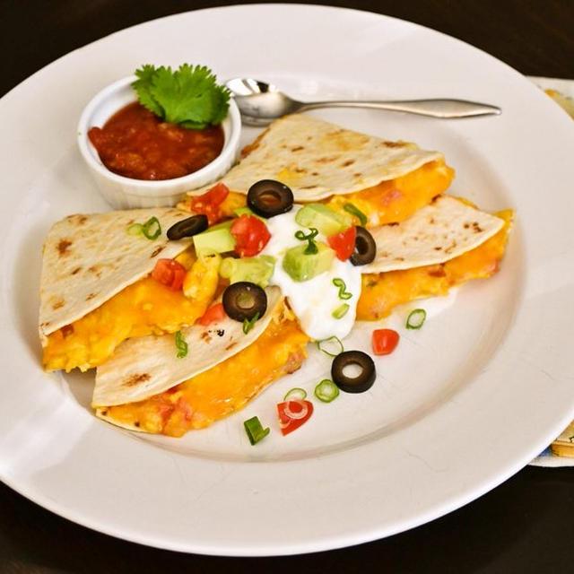 【ブレックファスト ケサディア Breakfast Quesadillas】アメリカの人気朝ごはん(印刷用)