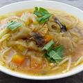 ☆野菜の幸せ!ミネストローネのスープスパ☆