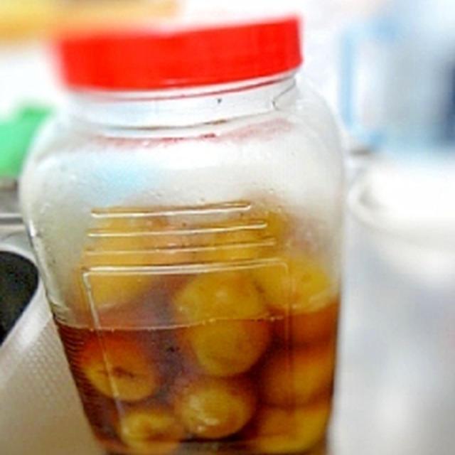 冷凍で作る★黒糖梅ジュース