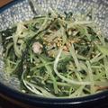 水菜のぺペロンチーノ