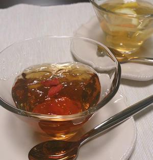 簡単3ステップ♪ゆる~くトロトロつるんでさっぱりなウーロン茶&ジャスミン茶ゼリー