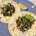 【レシピ】牛肉のタコス 「カルネ アサダ タコス」