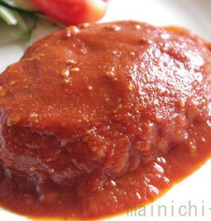 トマトジュースで!激ふわ煮込みハンバーグ