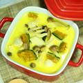 鶏と南瓜のココナッツミルクシチュー