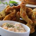 鶏むね肉1枚でタルタルソースと相性抜群!カレースティック唐揚げレシピ