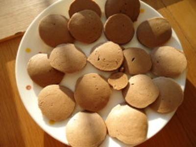 豆乳ココアプチパンケーキ